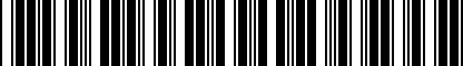Barcode for 80A096311
