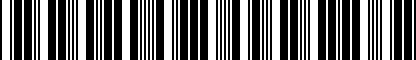 Barcode for ZVW239003